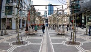Улица Цайль, Франкфурт-на-Майне, Германия, фераль 2014 | Самостоятельные путешествия ChanceToTrip.com