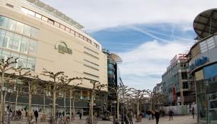 Улица Цайль, ТЦ Галерея, Франкфурт-на-Майне, Германия, фераль 2014 | Самостоятельные путешествия ChanceToTrip.com