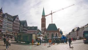 Площадь Рёмерберг, Франкфурт-на-Майне, Германия, фераль 2014 | Самостоятельные путешествия ChanceToTrip.com