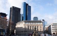 Площадь Гете, Deutsche Bank и Майнтауэр, Франкфурт-на-Майне, Германия | Самостоятельные путешествия ChanceToTrip.com