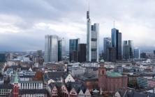 Финансовый квартал, Франкфурт-на-Майне, Германия | Панорама с Собора Св. Варфоломея | Самостоятельные путешествия ChanceToTrip.com