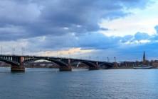 Мост Теодора Хойса, Майнц, Германия | Самостоятельные путешествия ChanceToTrip.com