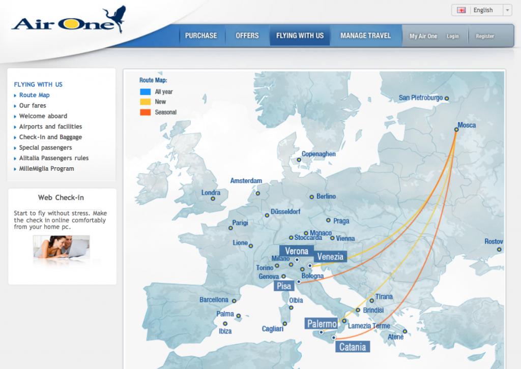 Лоукостер Air One | Самостоятельные путешествия ChanceToTrip.com