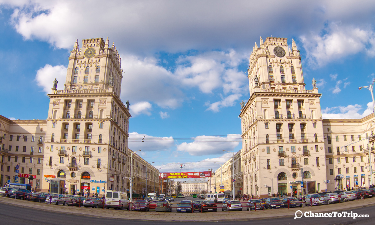 Ворота Минска, Беларусь  | Самостоятельные путешествия ChanceToTrip.com