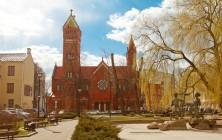 Костёл Святого Симеона и Святой Елены, Минск, Беларусь | Самостоятельные путешествия ChanceToTrip.com