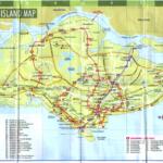Сингапур [Карта-путеводитель]