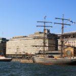 Ускоренный погранконтроль в порту Хельсинки