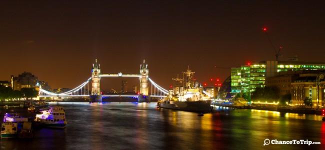 Тауэрский мост, Лондон | Самостоятельные путешествия ChanceToTrip.com