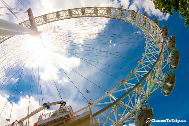Колесо обозрения London Eye | Самостоятельные путешествия ChanceToTrip.com