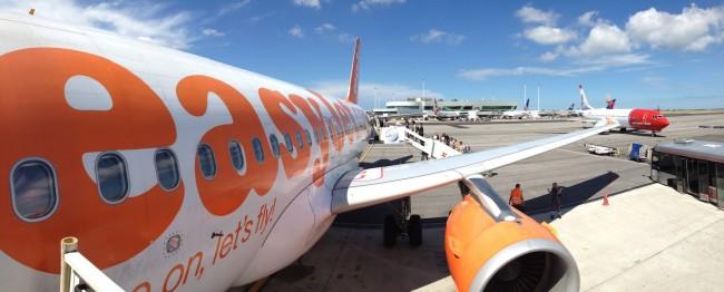 Борт авиакомпании EasyJet | Владимир Фильваркив | Самостоятельные путешествия ChanceToTrip.com