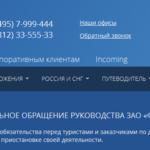 Турфирма Нева объявила о банкротстве [Видео Первый канал]
