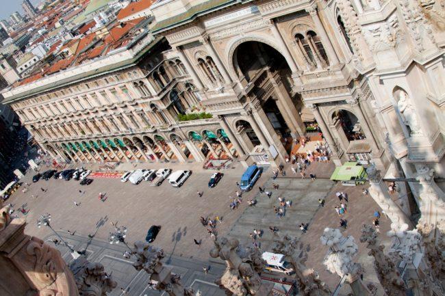 Вид с крыши миланского собора | Самостоятельные путешествия ChanceToTrip.com