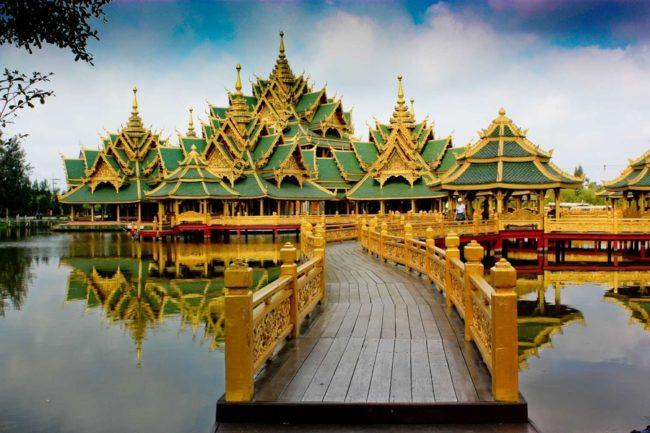 Древний город Samutprakarn Королевство Тайланд