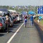 Росграница введет электронную очередь на автомобильных КПП в Финляндию и Эстонию