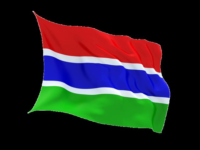 Флаг Гамбии | Самостоятельные путешествия ChanceToTrip.com