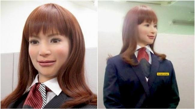 Робот Актроид, Отель Henn na Hotel Tokyo | Самостоятельные путешествия ChanceToTrip.com