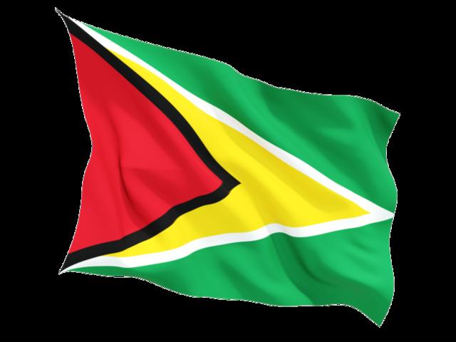 Флаг Гайана | Самостоятельные путешествия ChanceToTrip.com