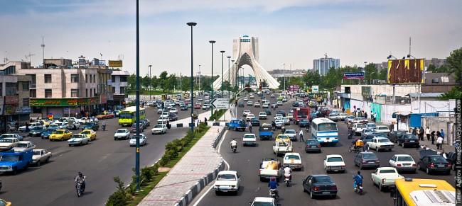Тегеран. Башня Свободы (Азади) | Автор Тимур Агиров (timag82.livejournal.com)