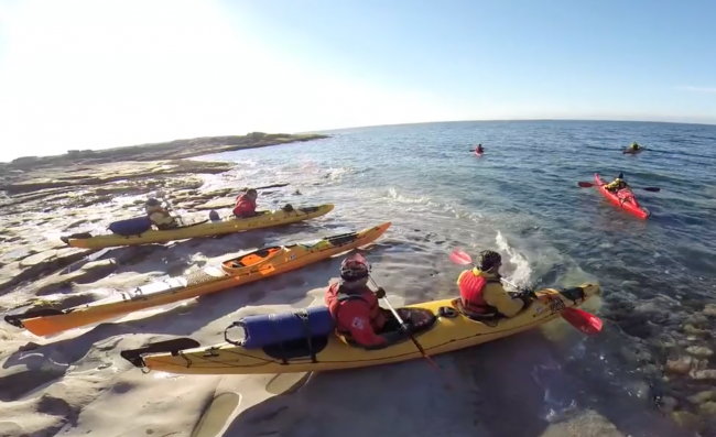 barents sea kayak
