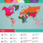 14 невероятно интересных карт, которые никогда не показывали в школе