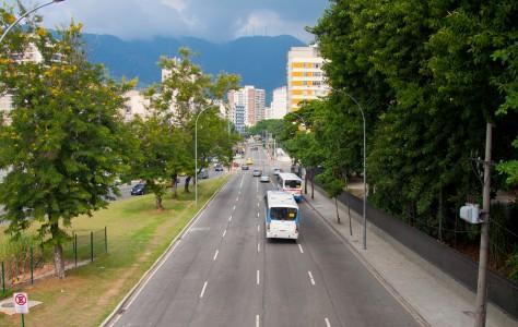 Трасса близ стадиона Маракана, Рио-де-Жанейро