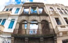 Остатки португальских построек в центре Старого города, Рио-де-Жанейро