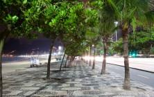 Ипанема ночью, Рио-де-Жанейро