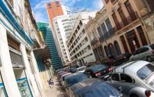 Одна из улиц в Центральном районе