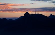 Закат над Рио-де-Жанейро