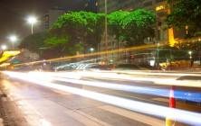 Автомобильный/спортивный тракты на Копакабана, Рио-де-Жанейро