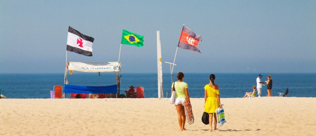 Пляж Копакабана, Рио-де-Жанейро, Базилия