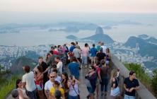 Смотровая площадка у подножия Статуи Христа в Рио