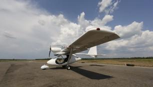 Самолет Сигма-4. Фото из личных архивов Антона Волкова.
