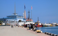 Морской вокзал, Батуми, Грузия | Vladimir Fil'varkiv