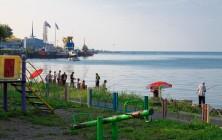 Пляж между Морским портом и Морвокзалом, Батуми, Грузия | Vladimir Fil'varkiv