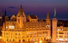 Батуми с крыш - вид на площадь Европы, Грузия | Vladimir Fil'varkiv