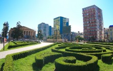 Площадь близ фонтана Посейдона, Батуми, Грузия | Vladimir Fil'varkiv