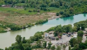 Слияние рек Арагви и Куры (вид со стороны Джвари), Мцхета, Грузия | Vladimir Fil'varkiv