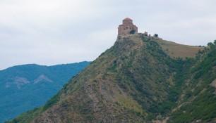 Вид на монастырь Джвари со стороны Мцхеты, Грузия | Vladimir Fil'varkiv