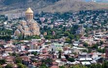 Вид на Собор Святой Троицы, Тбилиси, Грузия | Vladimir Fil'varkiv