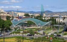 Мост Мира и Парк Рике, Тбилиси, Грузия | Vladimir Fil'varkiv