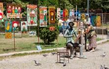 Арт-рынок близ Сухого моста, Тбилиси, Грузия | Vladimir Fil'varkiv