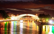 Река Кура, Тбилиси, Грузия | Vladimir Fil'varkiv