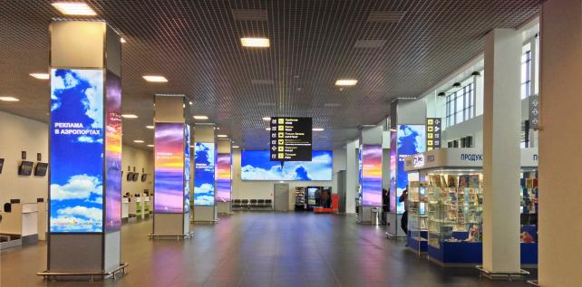 Зал регистрации, Аэропорт Жуковский (Раменское), Москва
