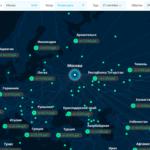Карта прямых перелётов — лучший помощник для планирования кругосветки и не только