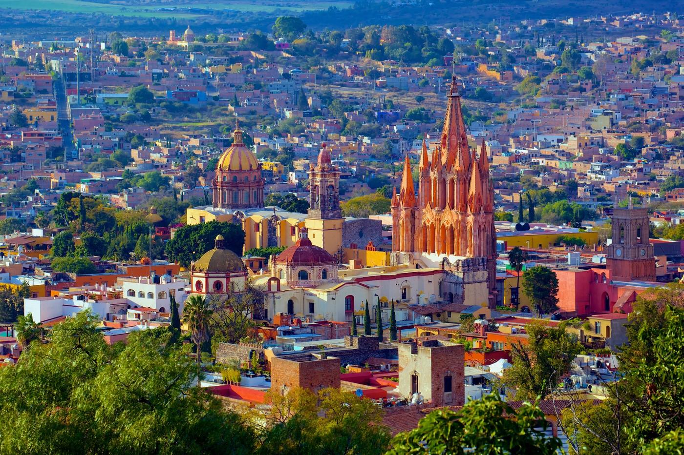 Сан-Мигель-де-Альенде, Мексика