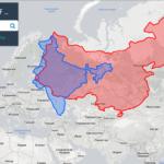 Реальные размеры стран на карте мира