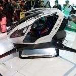 Пассажирские дроны-такси начнут летать над дубаем этим летом [Видео]