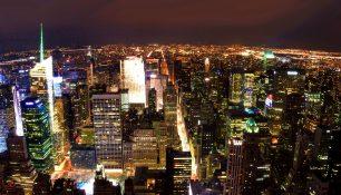 Вид на Нижний Манхэттен с Эмпайр Стейт Билдинг, Нью-Йорк | Владимир Фильваркив
