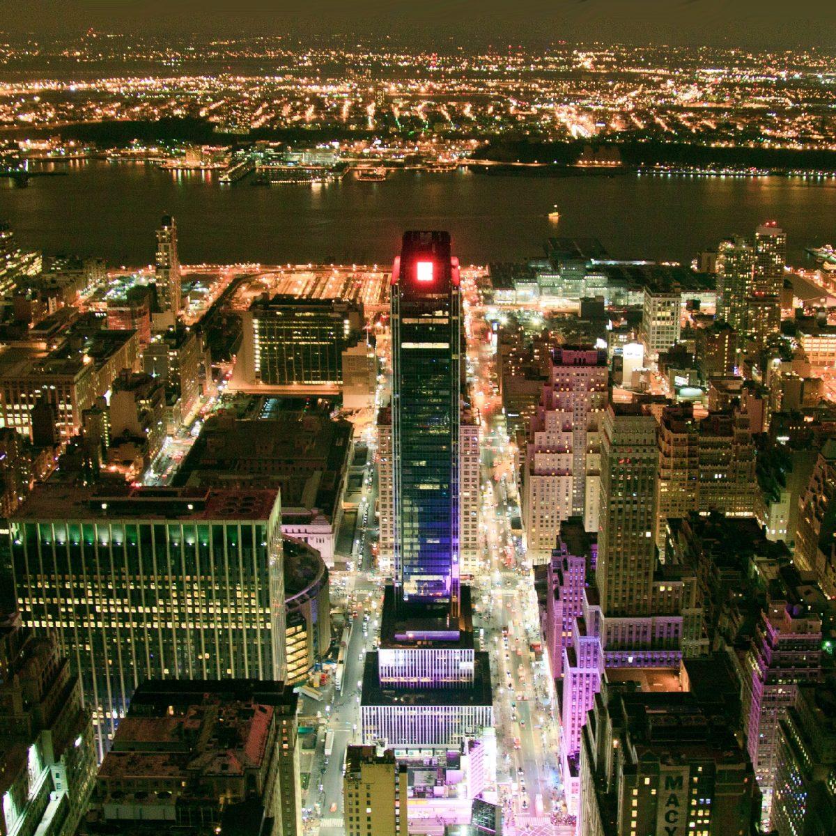 Вид на Гудзон с Эмпайр Стейт Билдинг, Нью-Йорк | Владимир Фильваркив
